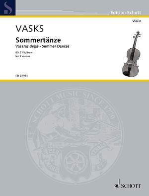 Vasks, P: Summer Dances