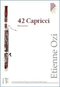 Etienne Ozi: 42 Capricci Per Fagotto