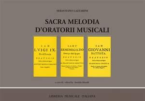 Arnaldo Morelli: Sacra melodia d'oratorii musicali. Roma 1678