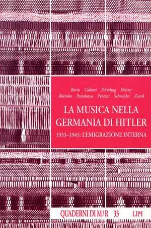 Roberto Favaro_Luigi Pestalozza: Musica nella Germania di Hitler (La)