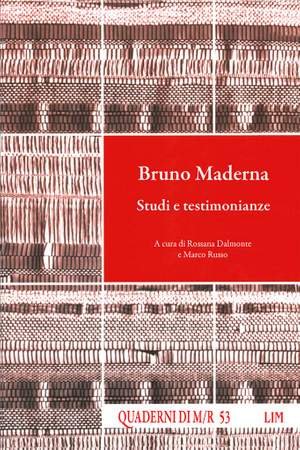 Rossana Dalmonte_Marco Russo: Bruno Maderna