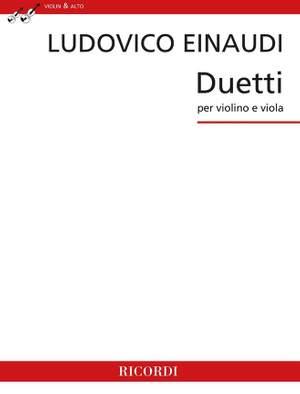 Ludovico Einaudi: Duetti per violino e viola