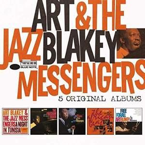 Art Blakey & The Jazz Messengers - 5 Original Albums