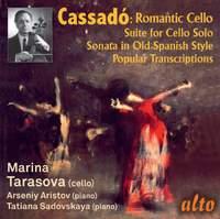 Gaspar Cassadó: Works & Transcriptions for Cello