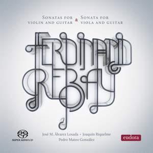 Ferdinand Rebay: Violin and Guitar Sonatas