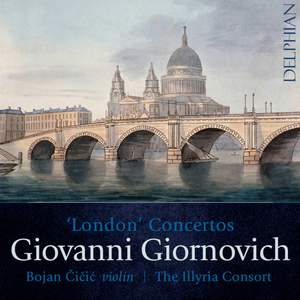 Giornovich: London Concertos Product Image