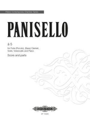Panisello, Fabian: a 5 (score & parts)