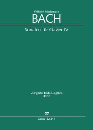 W. F. Bach: Sonatas for solo keyboard instrument IV