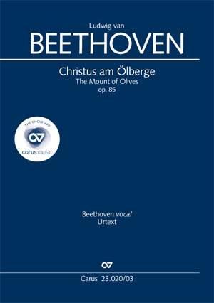 Beethoven: Christus am Ölberge (The Mount of Olives), op. 85