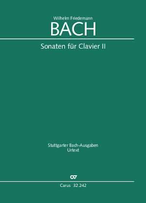 W. F. Bach: Sonatas for solo keyboard instrument II