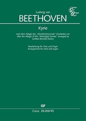 "Beethoven: Kyrie based on the Adagio of the ""Moonlight Sonata"""