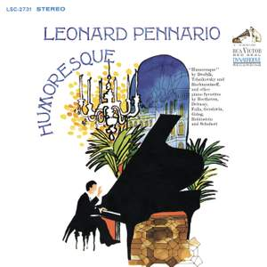 Pennario Plays Piano Music by Dvorak, Tchaikovsky, Rachmaninoff, Debussy, Gershwin and More Product Image