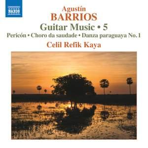 Barrios: Guitar Music, Vol. 5
