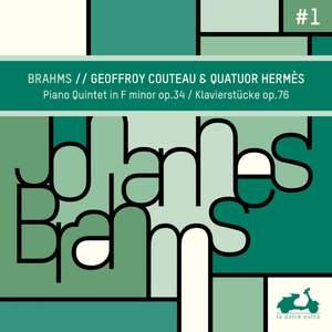 Brahms: Piano Quintet in F Minor, Op. 34 & Klavierstücke, Op. 76 Product Image