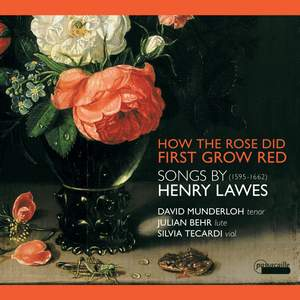 Songs by Henry Lawes : How the Rose First Grew Red Product Image