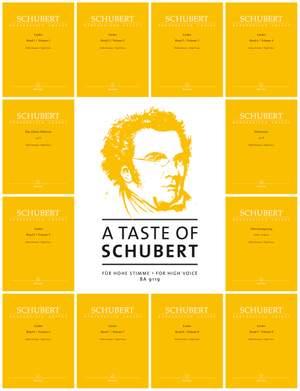 A Taste of Schubert for High Voice