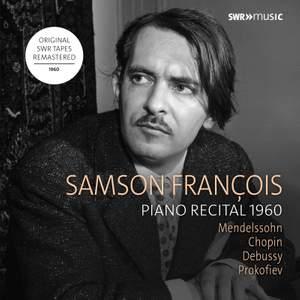 Samson François: Piano Recital 1960
