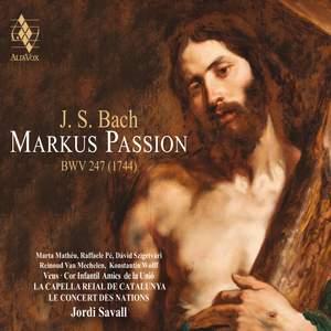 JS Bach: Markus Passion BWV247 (1744) Product Image