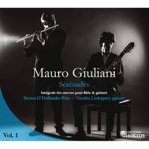 Giuliani: Sérénades, Vol. 1 (Intégrale des œuvres pour flûte et guitare)