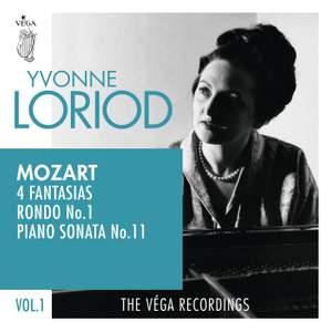 Mozart: 4 Fantasias, Rondo No.1, Piano sonata No.11 'Alla Turca'