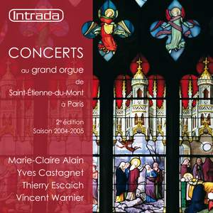 Concerts au grand orgue de Saint-Étienne-du-Mont à Paris