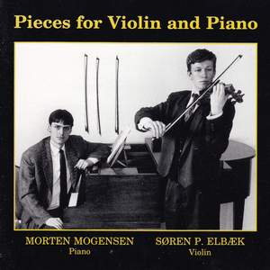Pieces for Violin and Piano