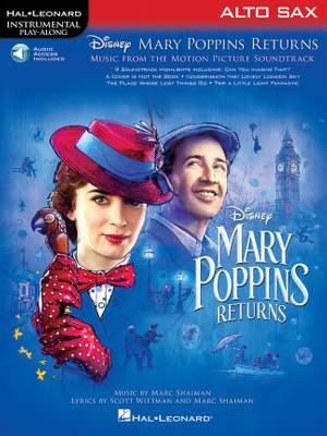 Marc Shaiman_Scott Wittman: Mary Poppins Returns for Alto Sax