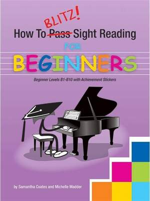 How To Blitz! Sight Reading Beginner Product Image