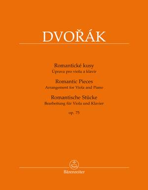 Dvorák, Antonín: Romantic Pieces op. 75