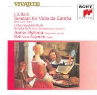 JS Bach: Sonatas for Viola da Gamba