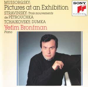 Mussorgsky: Pictures at an Exhibition, Stravinsky: Three Movements from Petrushka Product Image