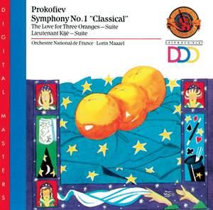 Prokofiev: Symphony No. 1, The Love from Three Oranges Suite, Lieutenant Kijé Suite Product Image