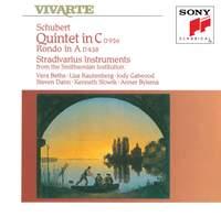 Schubert: Quintet in C D956, Rondo in A D438