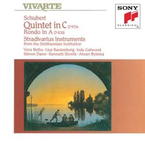 Schubert: Quintet in C D956, Rondo in A D438 Product Image