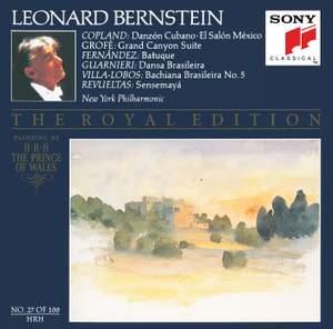 Bernstein conducts Copland, Grofé & Villa-Lobos Product Image