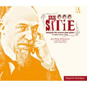 Satie: Intégrale des oeuvres pour piano (Complete Piano Works) Product Image
