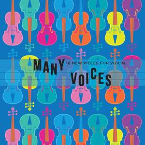 Many Voices: 10 New Pieces for Violin Product Image