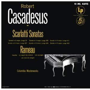 Scarlatti: Sonatas - Reameau: Gavotte es six doubles & Les Niais de Sologne Product Image