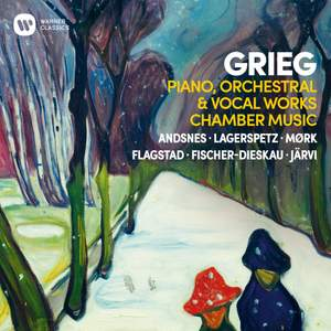 Grieg: Piano, Orchestral, Chamber and Vocal Works Product Image