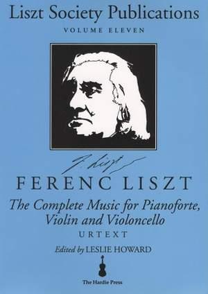 The Complete Music - Volume 11: For Pianoforte, Violin and Violoncello