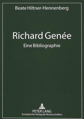 Richard Genee. Eine Bibliographie