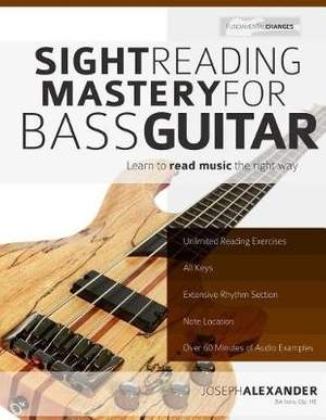 Sight Reading Mastery for Bass Guitar: Volume 2: (Sight Reading for Modern Instruments)