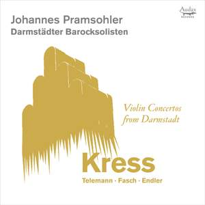 Violin Concertos from Darmstadt Product Image