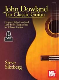 John Dowland For Classic Guitar (Book/Online Audio)