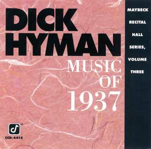 Music Of 1937: Maybeck Recital Hall Series