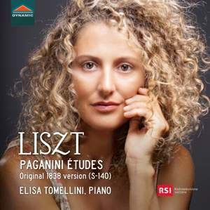 Liszt: Paganini Études (Original 1838 Version) Product Image