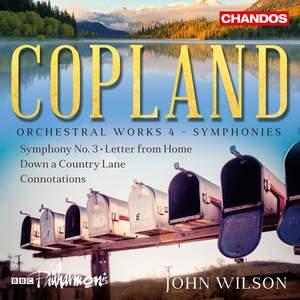 Copland: Orchestral Works Volume 4