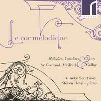 Le cor mélodique: Mélodies