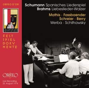 Schumann: Spanische Liederspiel & Brahms: Liebeslieder-Walzer Product Image