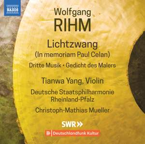Wolfgang Rihm: Music for Violin and Orchestra Vol.1